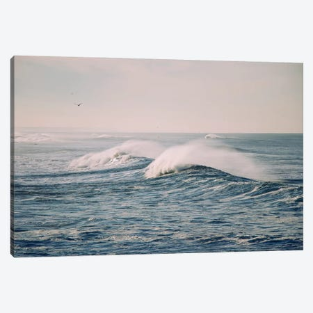 Stormy Waters Canvas Print #INB74} by Ingrid Beddoes Canvas Art Print