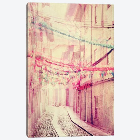 Street Party Canvas Print #INB75} by Ingrid Beddoes Art Print