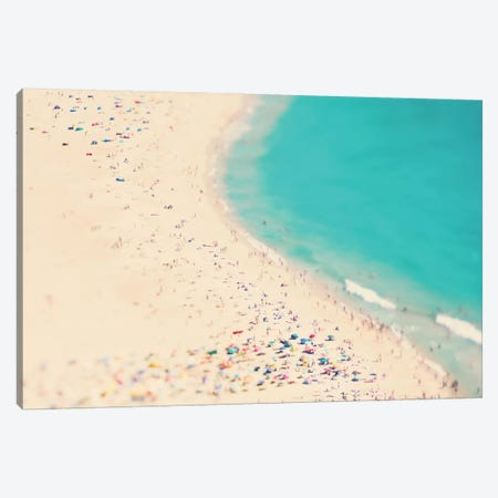 Summer Love Canvas Print #INB78} by Ingrid Beddoes Canvas Artwork