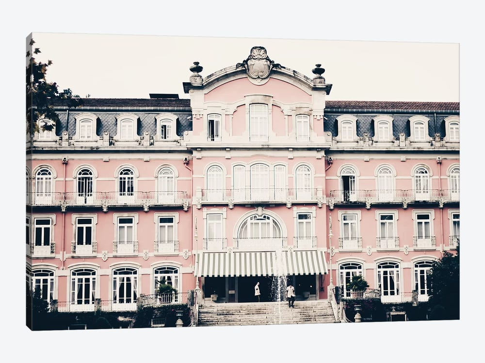 The Pink Palace by Ingrid Beddoes 1-piece Canvas Wall Art