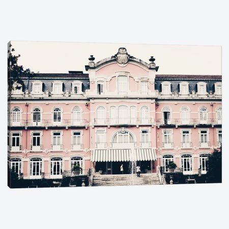 The Pink Palace Canvas Print #INB83} by Ingrid Beddoes Canvas Print
