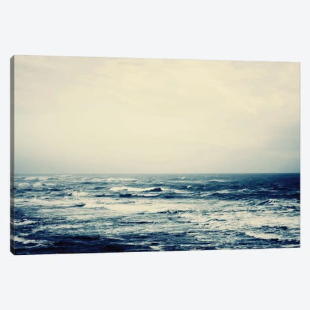 The Sea 3-Piece Canvas #INB85} by Ingrid Beddoes Canvas Artwork