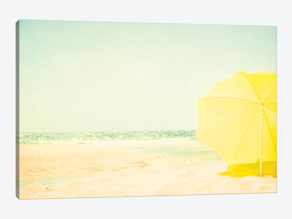 The Yellow Umbrella by Ingrid Beddoes 1-piece Canvas Print