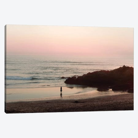Watching The Sunset Canvas Print #INB92} by Ingrid Beddoes Canvas Art