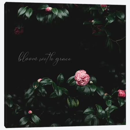 Bloom With Grace Canvas Print #INB96} by Ingrid Beddoes Canvas Art Print