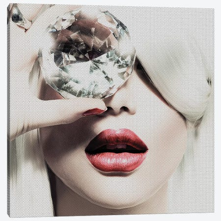 Diamonds Are Forever Canvas Print #INC1} by Incado Canvas Art