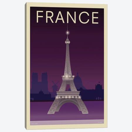 Eiffel Tower Canvas Print #INC2} by Incado Canvas Art