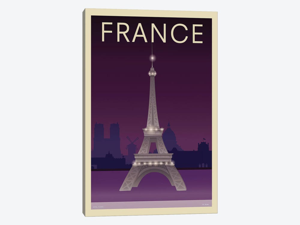 Eiffel Tower by Incado 1-piece Canvas Wall Art