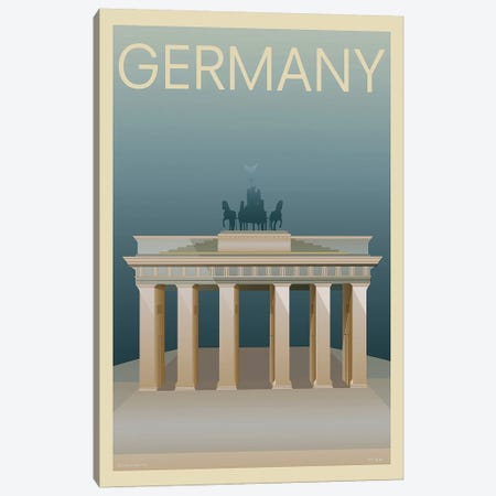 Germany Canvas Print #INC3} by Incado Canvas Artwork