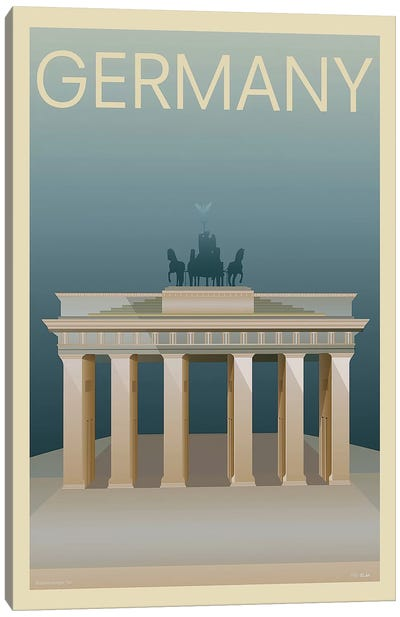 Germany Canvas Art Print