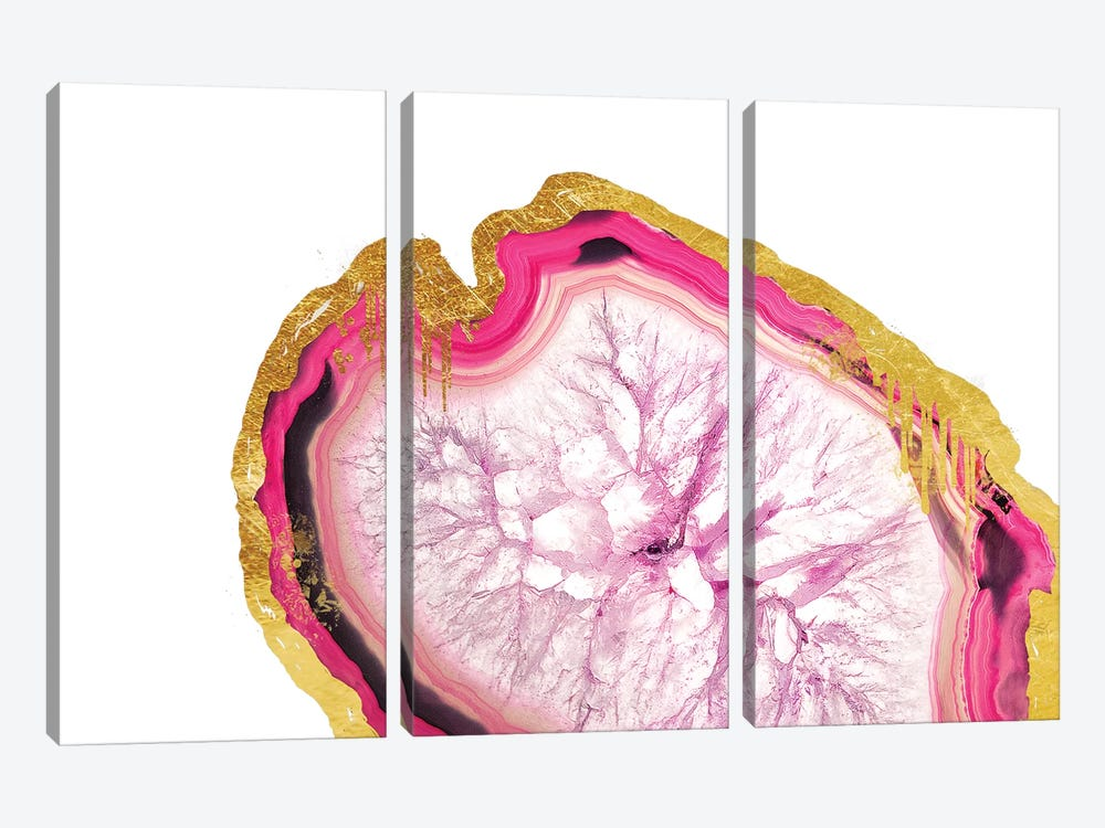 Deliquesce Blush 3-piece Art Print