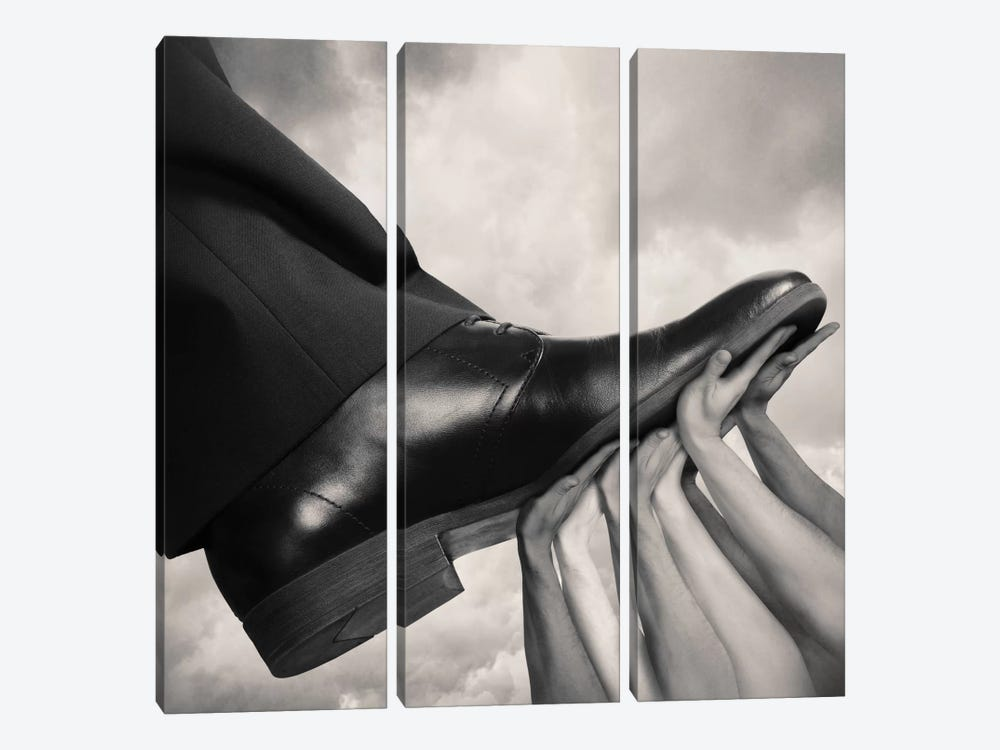 United by Tommy Ingberg 3-piece Canvas Print