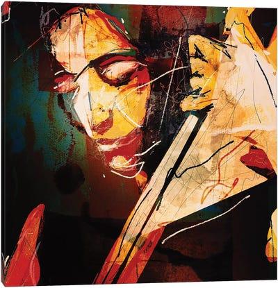 Esperanza Spalding Canvas Art Print