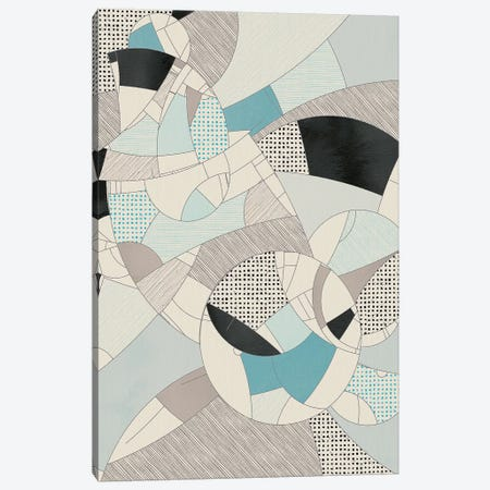 Härnta Mosaic Canvas Print #INK15} by inkycubans Canvas Art