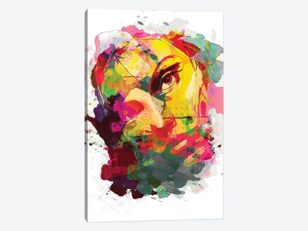 Jasmine No. 3, Color by inkycubans 1-piece Art Print