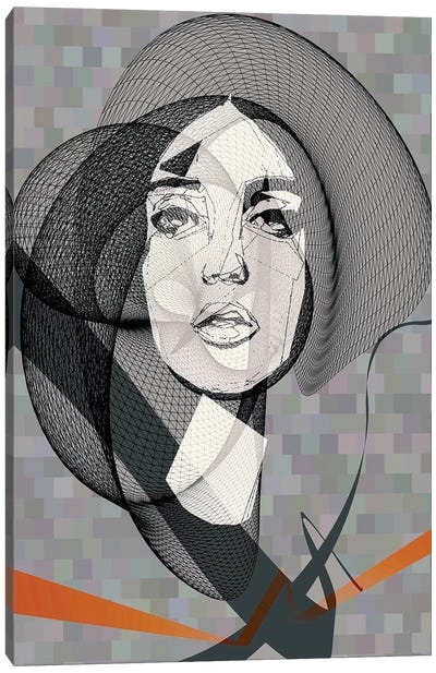 She Canvas Art Print
