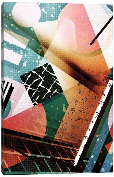 Abstrakt No. 2 Canvas Art Print