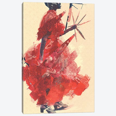 Dancing Canvas Print #INK39} by inkycubans Canvas Print