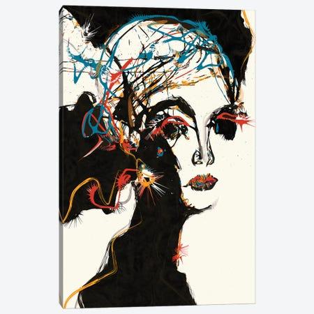 Winnie Canvas Print #INK47} by inkycubans Canvas Art Print