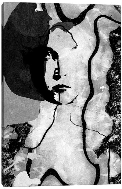 December Woman Canvas Art Print