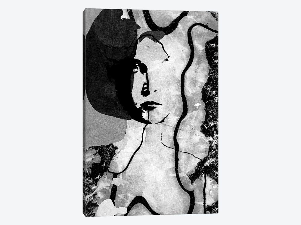 December Woman by inkycubans 1-piece Canvas Artwork