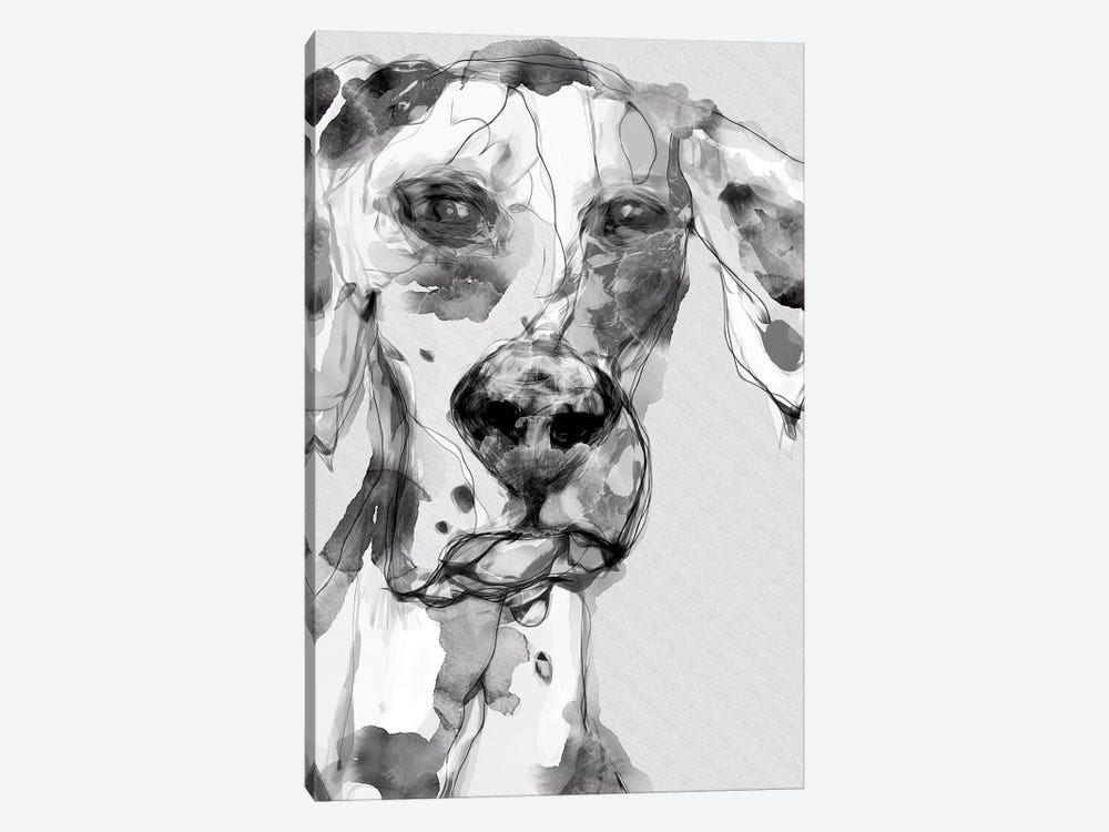 Bonzo by inkycubans 1-piece Art Print