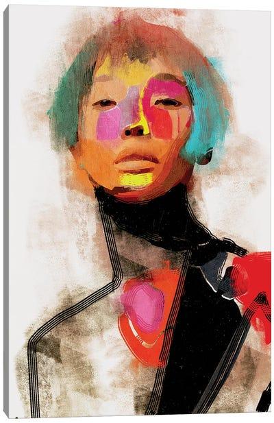 China Girl Canvas Art Print