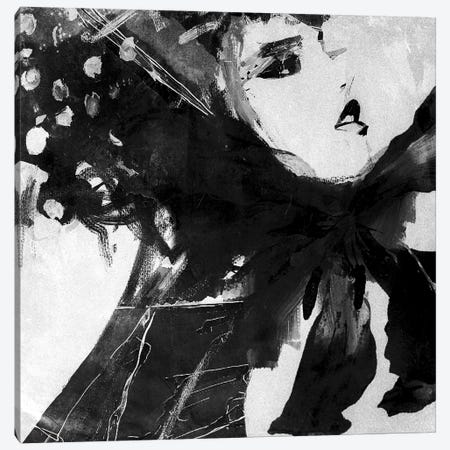 Lady Beth Canvas Print #INK59} by inkycubans Canvas Art Print