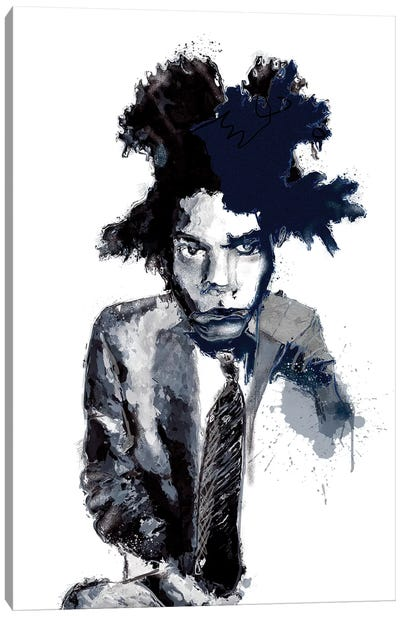 Basquiat I Canvas Art Print