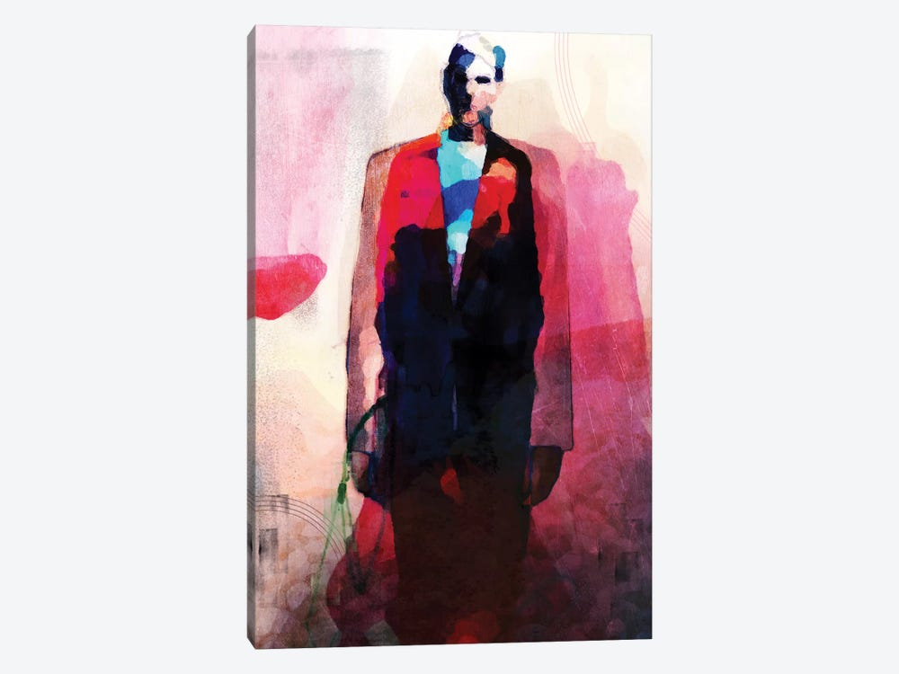 Tallman by inkycubans 1-piece Canvas Print