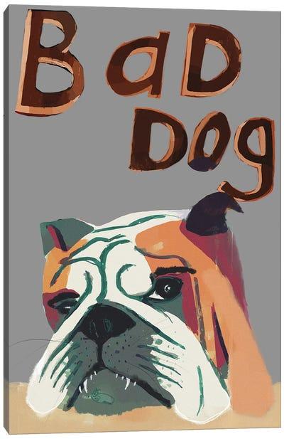 Bad Dog Canvas Art Print