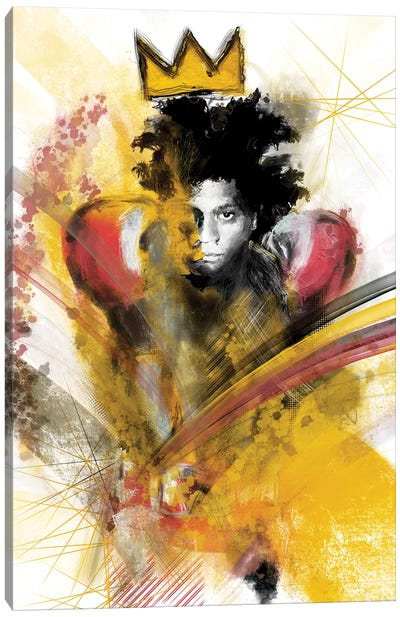 Basquiat II Canvas Art Print