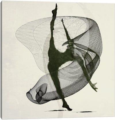 Dancer Routine Canvas Art Print