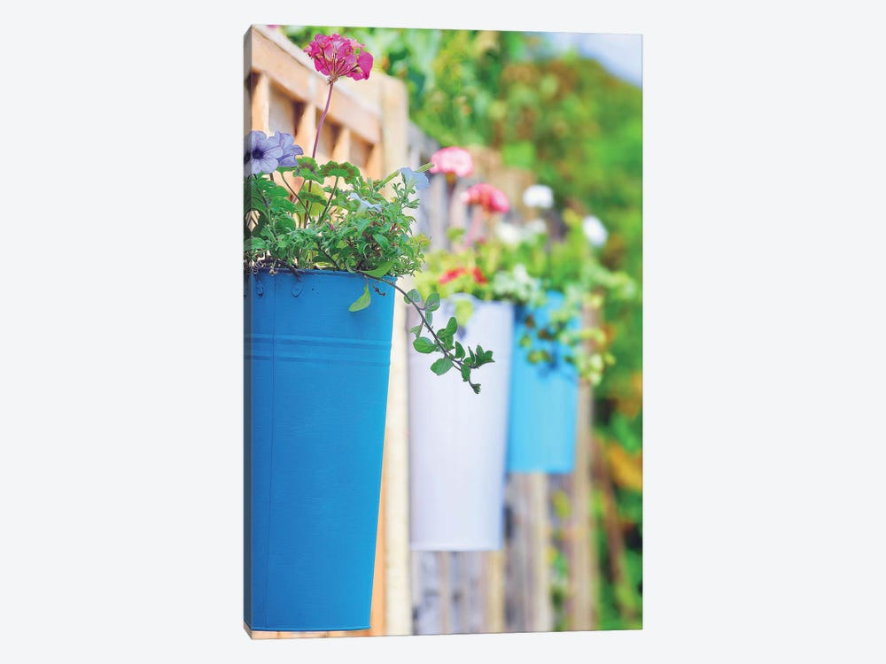 The Colored Pots by Adelino Goncalves 1-piece Canvas Wall Art