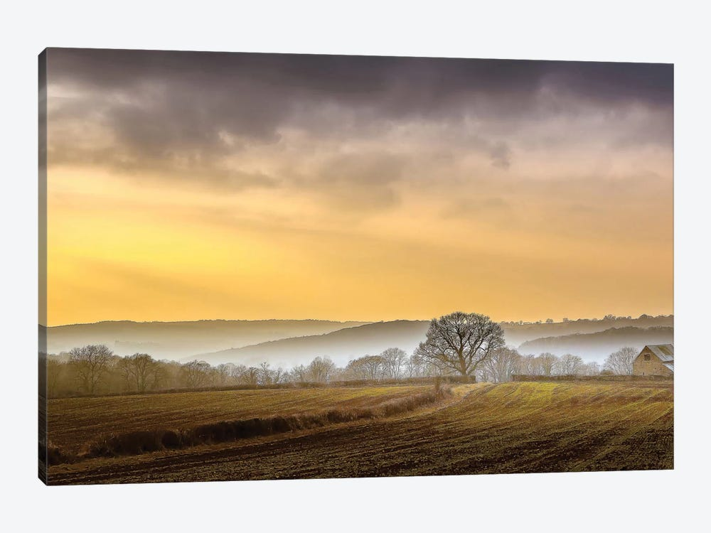 The Farm 1-piece Canvas Art Print