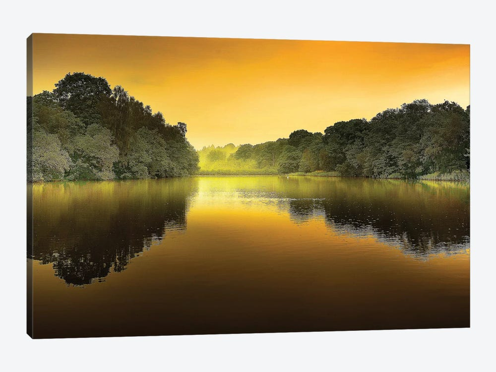 The Lake by Adelino Goncalves 1-piece Canvas Artwork