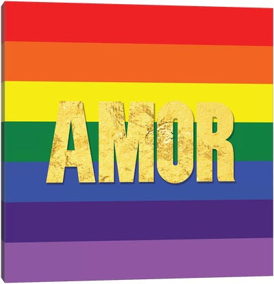 Pride For Amor Canvas Art Print