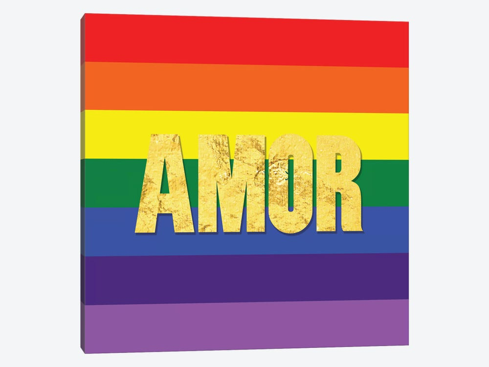 Pride For Amor by 5by5collective 1-piece Canvas Wall Art