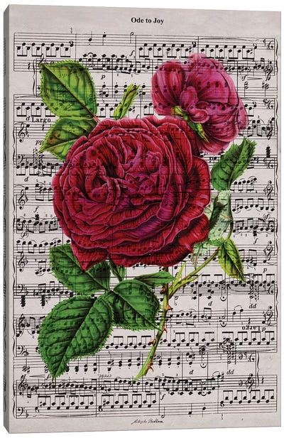 Ode to Joy Canvas Art Print