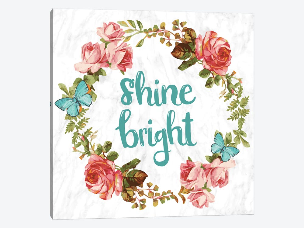 Shine Bright by 5by5collective 1-piece Canvas Print