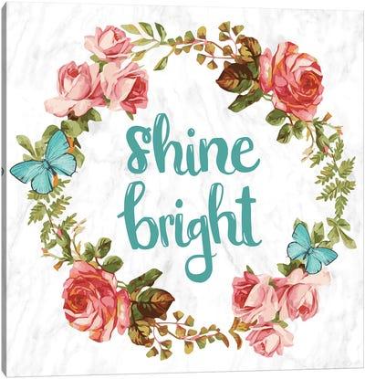 Shine Bright Canvas Art Print
