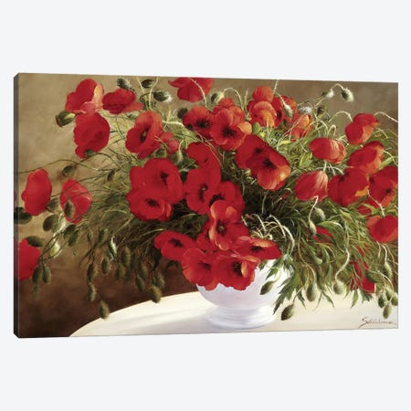 A Lovely Bouquet Canvas Print #INZ1} by Heinz Scholnhammer Canvas Art