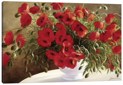 A Lovely Bouquet Canvas Art Print