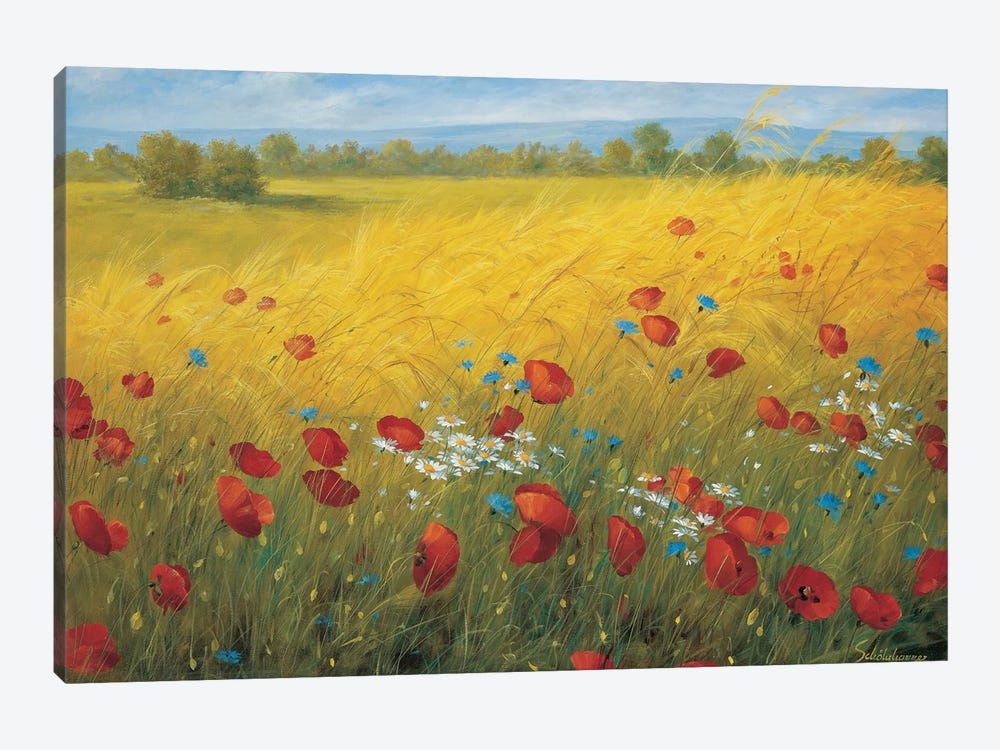 Sparkling Field I 1-piece Canvas Print