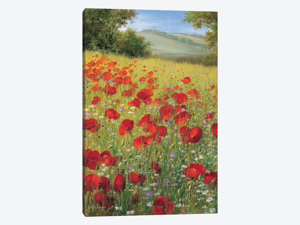Sparkling Field II by Heinz Scholnhammer 1-piece Canvas Artwork