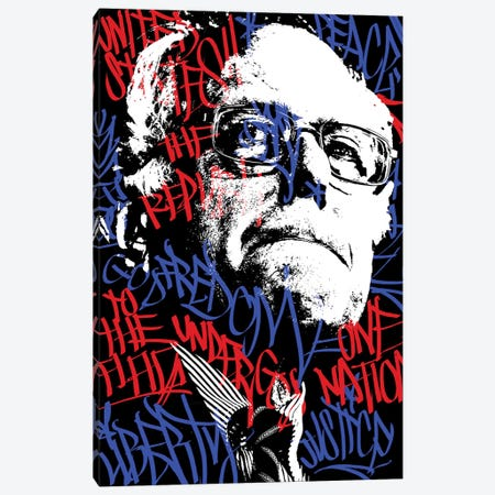 Bernie Canvas Print #ION3} by Ion One STN Canvas Artwork