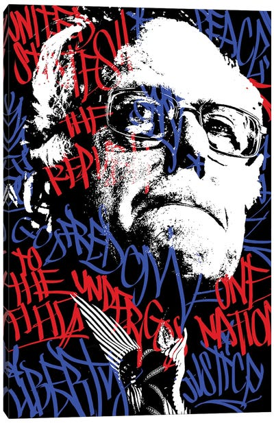 Bernie Canvas Art Print