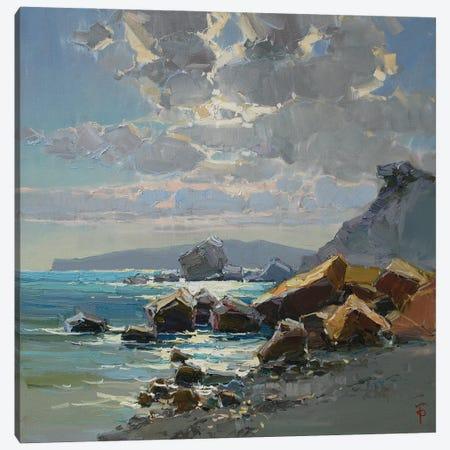 Rocky Coast Of The Cimmeria Canvas Print #IPZ11} by Igor Pozdeev Canvas Wall Art