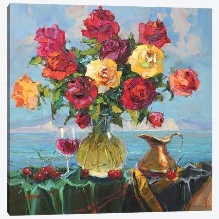 Roses Canvas Print #IPZ12} by Igor Pozdeev Canvas Wall Art