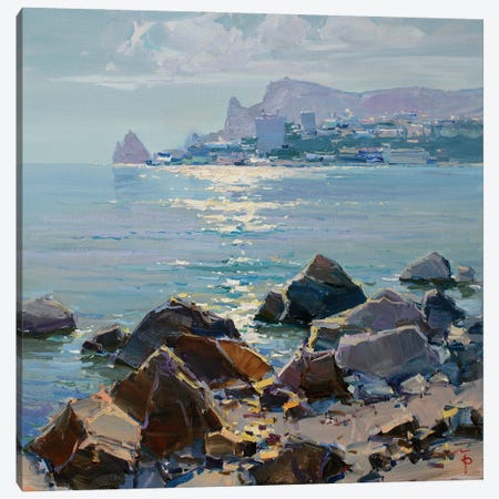 Calm Sea Canvas Print #IPZ3} by Igor Pozdeev Canvas Wall Art
